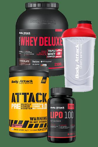 25 Jahre Body Attack Workout Paket groß