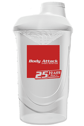 Body Attack 25 Years Jubiläums-Shaker - 600 ml