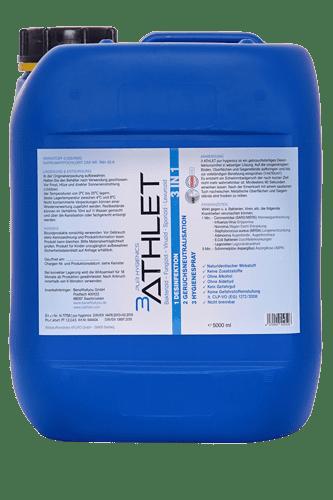 3ATHLET Pure Hygienics Desinfektionsmittel - 5L
