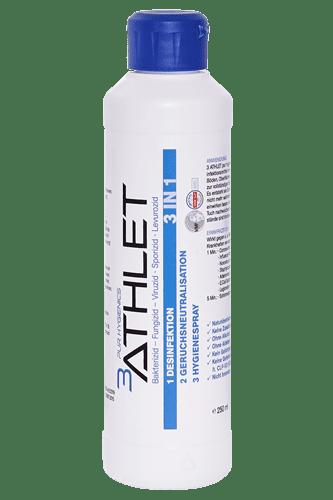 3ATHLET Pure Hygienics Desinfektionsmittel - 250 ml