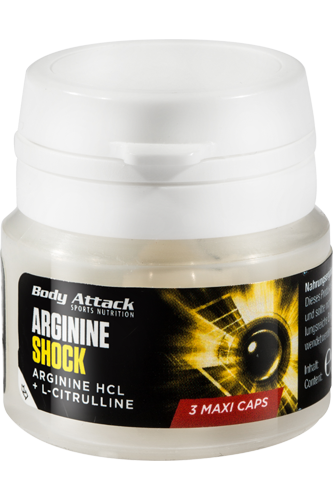 Body Attack Arginine Shock - 3 Caps