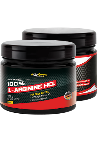 My Supps Arginine plus Citrulline Malate (Mix) - 500g