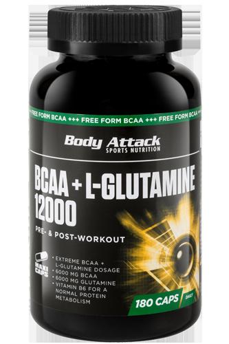 Hier BCAA+Glutamine von Body Attack kaufen