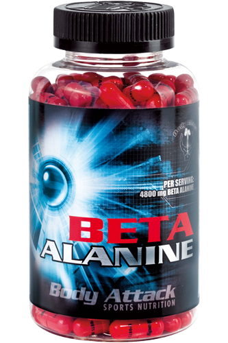 Body Attack Beta Alanine 210 Caps
