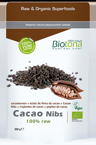 Biotona Cacao raw nibs - 300g