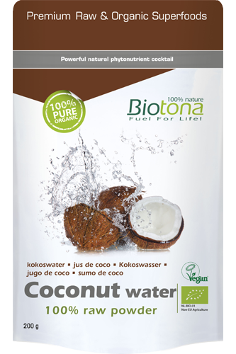 Biotona Coconut Water 100% Raw Powder - 200g
