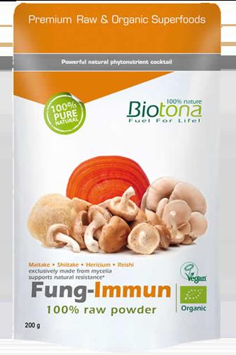 Biotona Fung Immun raw powder - 200g