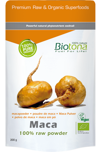 Biotona Maca 100% Raw Powder � 200g