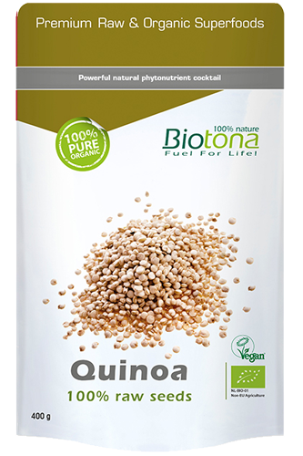 Biotona Quinoa Raw Seeds - 400g