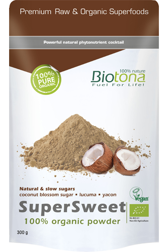 Biotona SuperSweet 100% Organic Powder - 300g