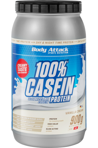 Body Attack 100% Casein Protein - 900g Aktion