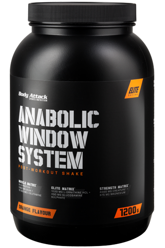 Body Attack A-Window Protein System - 1200g Restposten