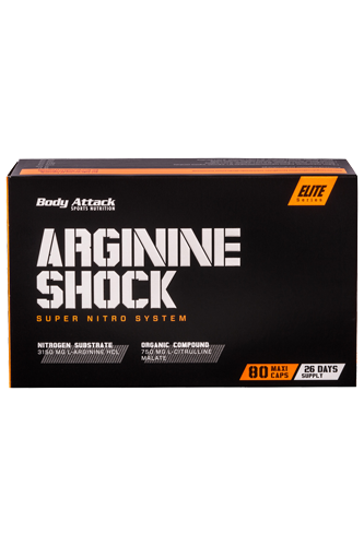 Body Attack Arginine Shock - 80 Caps