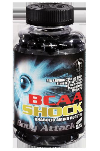 Body Attack BCAA Shock - 120 Caps