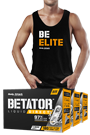 Body Attack BETATOR® - 180 Caps - 3er Pack + gratis BE ELITE Stringer Tank Top