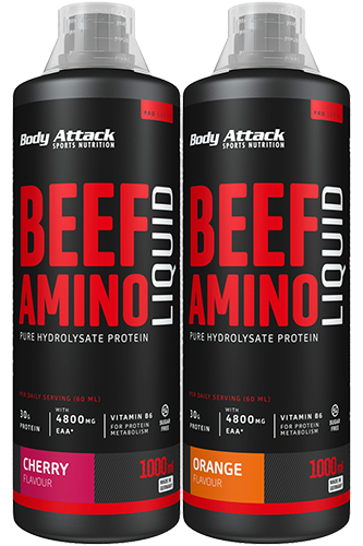 Body Attack Beef Amino Liquid - 1000ml