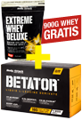 Body Attack Betator 180er + Extreme Whey Deluxe 900g gratis *AKTIONSPAKET*
