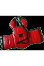 Body Attack Brustschutz schwarz/rot