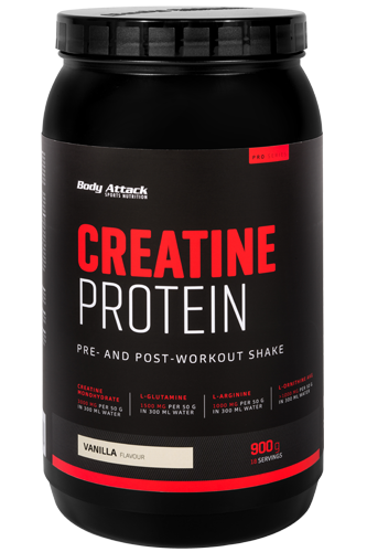Body Attack CREATINE PROTEIN - 900g Restposten
