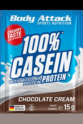 Body Attack 100% Casein Protein - 15g Probe