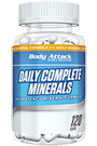 Body Attack Daily Complete Minerals - 120 Caps
