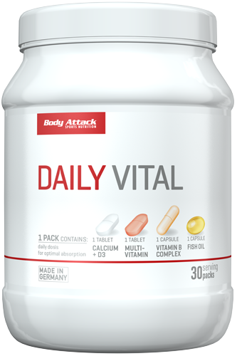 Daily Vital von Body Attack bestellen