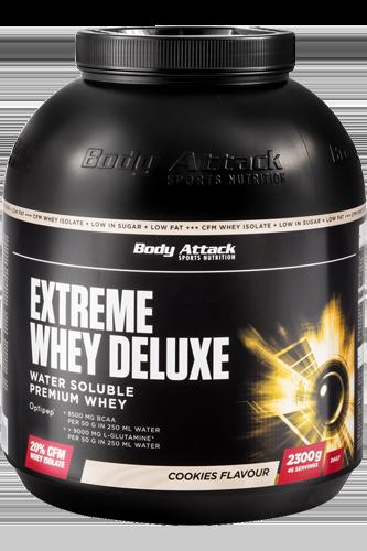 Body Attack Extreme Whey Deluxe - 2,3 kg Restposten*
