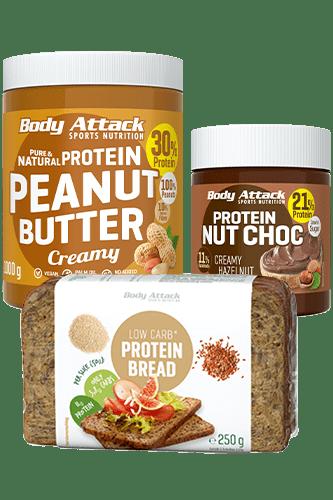 Body Attack Frühstücks-Paket Brotzeit