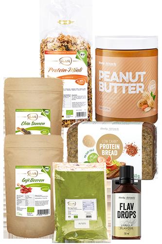 Body Attack Frühstücks-Paket für den großen Hunger