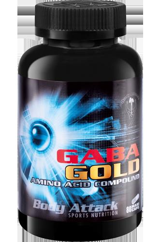 Body Attack GABA Gold - 80 Caps Restposten