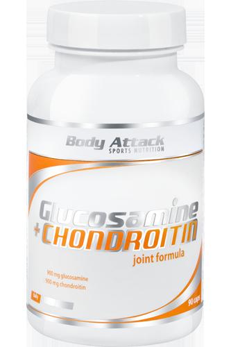 Body Attack Glucosamine + Chondroitin - 90 Caps Restposten