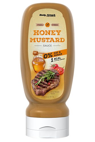 Body Attack Honey Mustard Sauce - 320ml