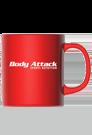 Body Attack Kaffeebecher - 6er Pack