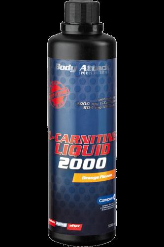 Body Attack L-Carnitine Liquid 2000 - 500ml Restposten
