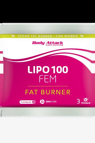 Body Attack LIPO 100-FEM - 3 Caps