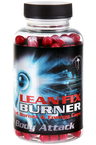 Body Attack Lean Fix Fatburner - 60 Caps