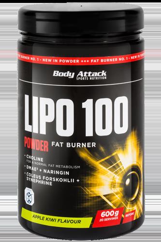 Body Attack LIPO 100-Powder - 600g