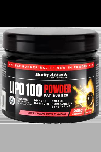 Body Attack LIPO 100-Powder - 240g