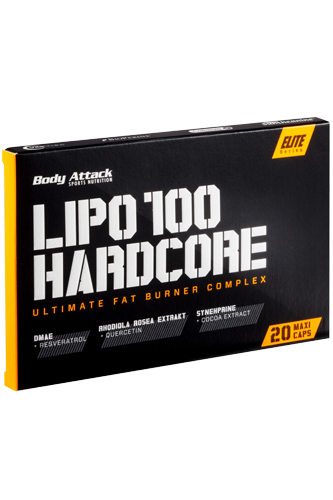 Body Attack LIPO 100-HARDCORE - 20 Caps