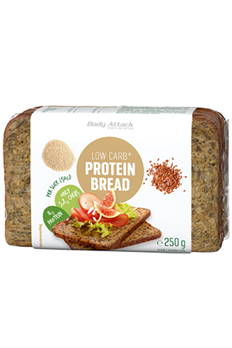 Body Attack Low-Carb*-Protein Bread - 250g