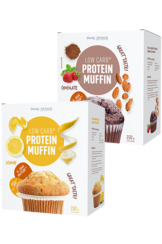 Body Attack Low Carb Protein Muffin - 150g