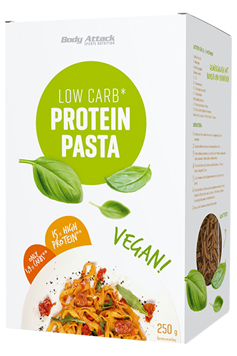 Body Attack Protein Low-Carb* Pasta Vegan - 250g