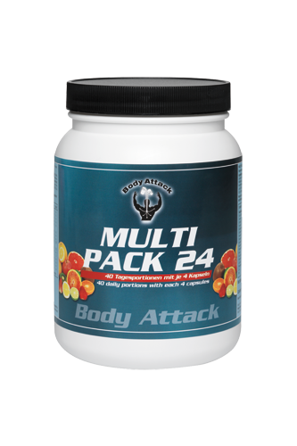 Body Attack Multi Pack 24 - 40 Tagesportionen