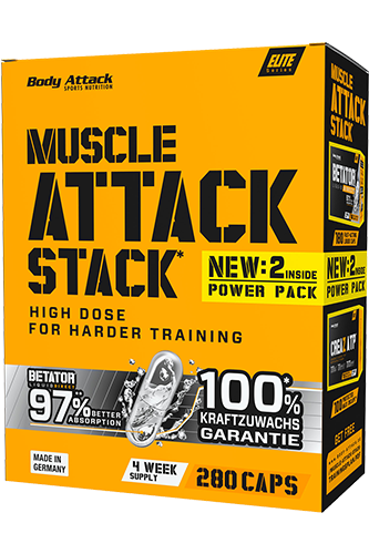 Body Attack Muscle Attack Stack - Restposten