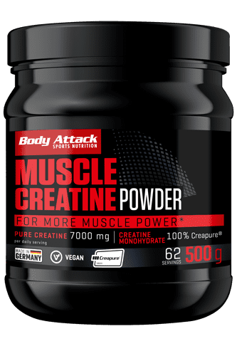 Body Attack Muscle Creatine (Creapure®) - 500g