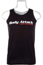Body Attack Muscle-Shirt black