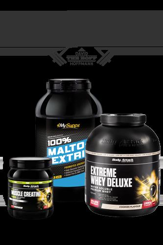 Body Attack Muskelmaschine Aufbau-Paket Basic (30 Tage)