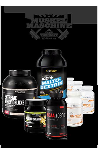 Body Attack Muskelmaschine Aufbau-Paket Profi (30 Tage)