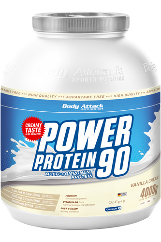 Body Attack Power Protein 90 - 4kg Restposten