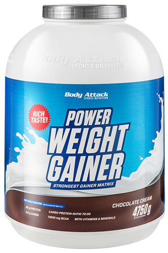 Body Attack Power Weight Gainer - 4,75 kg-Restposten